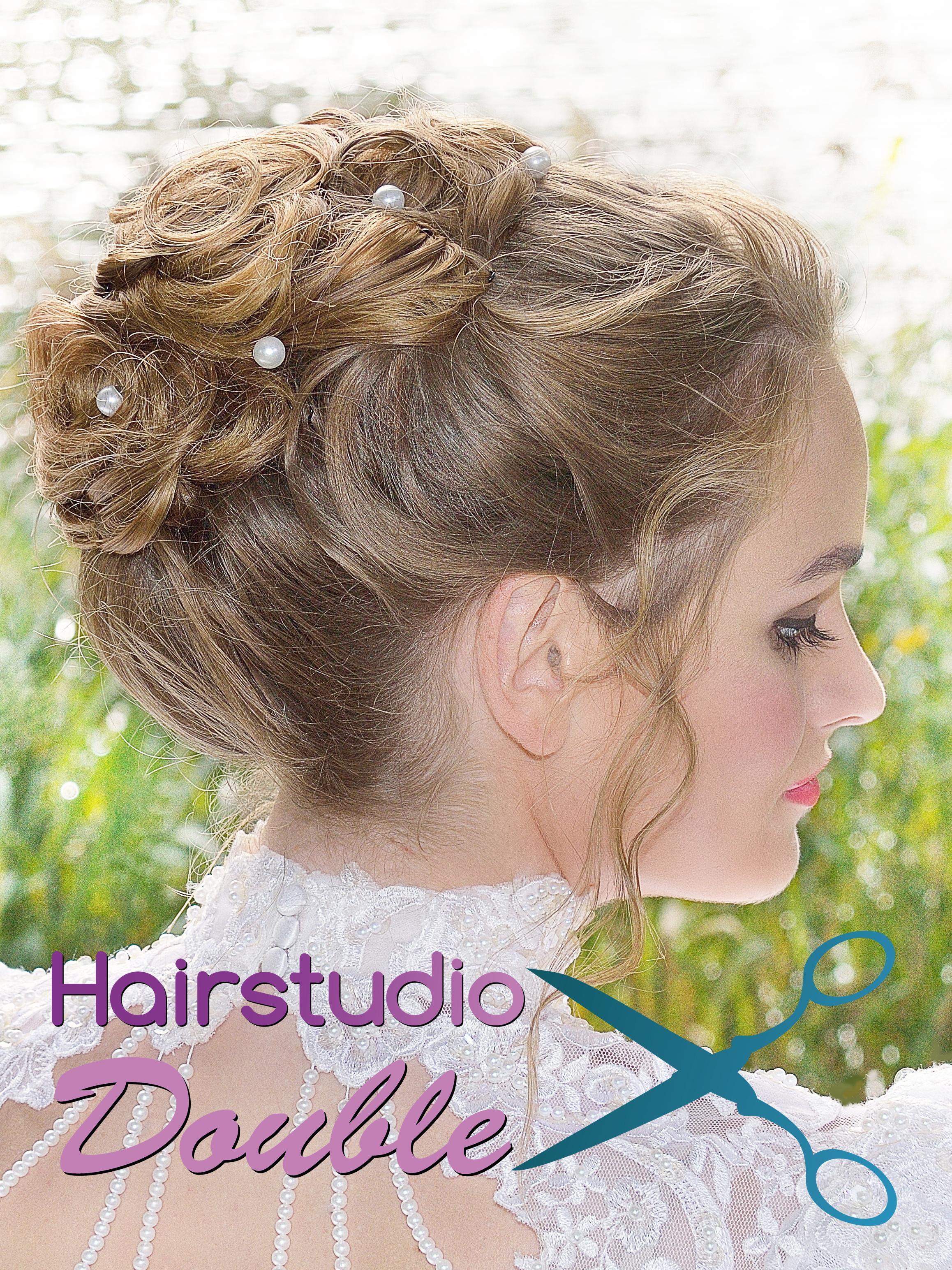 Voor uw droom bruidskapsel moet u bij Hairstudio Double in Goes zijn!